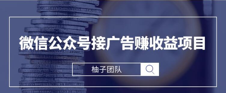 微信公众号接广告赚钱【视频课程】